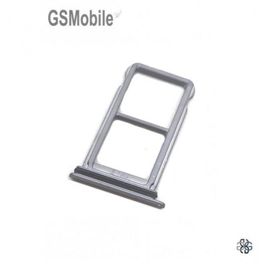Huawei P20 SIM card and MicroSD tray black original