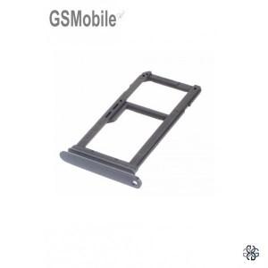 Bandeja de cartão SIM e MicroSD para Huawei Mate 9 Cinza