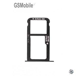 Bandeja de cartão SIM e MicroSD para Huawei Mate 9 Preto