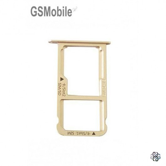 SIM card and MicroSD tray Huawei Mate 9 Gold