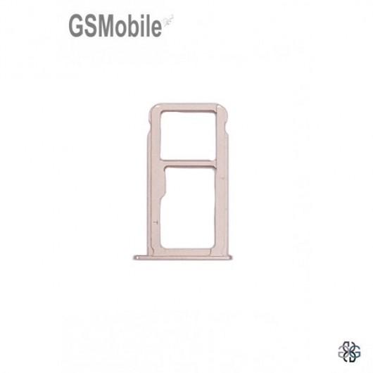 Huawei Nova Plus SIM card and MicroSD tray pink