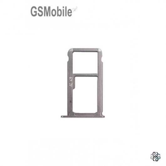 Huawei Nova Plus SIM card and MicroSD tray grey