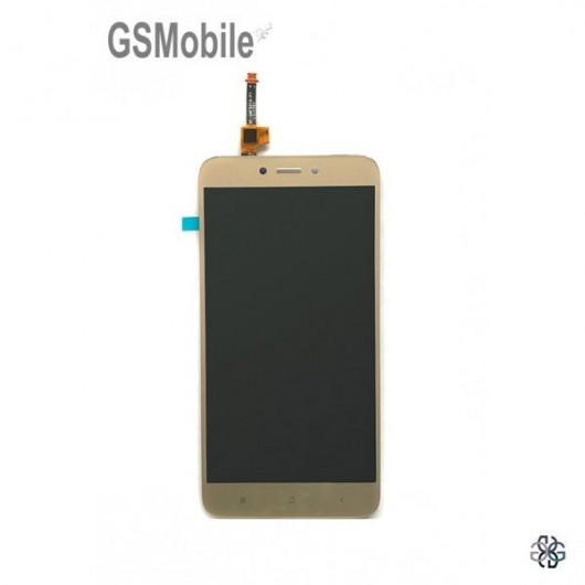 Display for Xiaomi Redmi 4X Gold