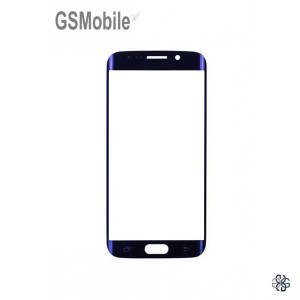 Samsung S6 Edge Galaxy G925F Screen Glass Lens black