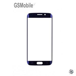 Vidro Dianteiro preto para Samsung S6 Edge Galaxy G925F