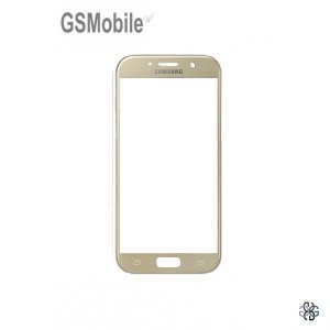 Samsung A5 2017 Galaxy A520F Screen Glass Lens gold