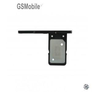 Bandeja de cartão SIM para Sony Xperia XA1 Preto Original
