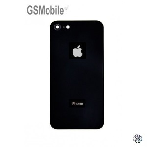 Battery Cover with camera lens for iPhone 8 Black