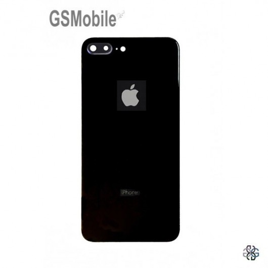 Battery Cover white camera lens for iPhone 8 Plus Black