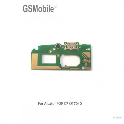 Modulo de carga Alcatel Pop C7 OT7040
