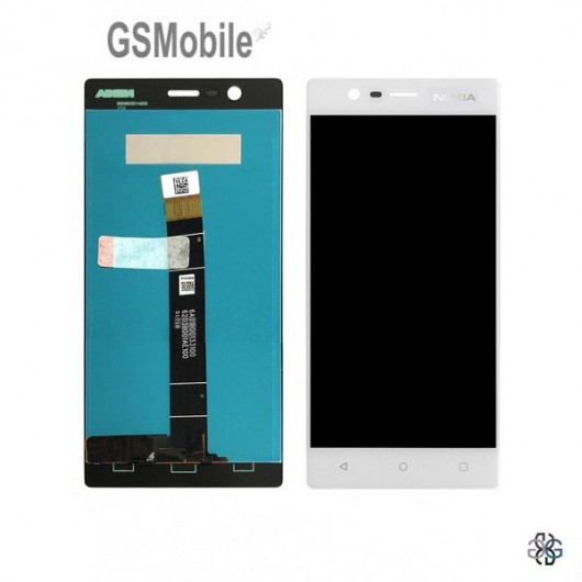 Nokia 3 display white