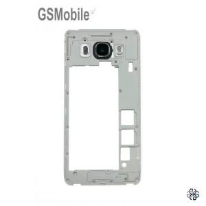 Chassi intermediário preto para Samsung J5 2016 Galaxy J510F