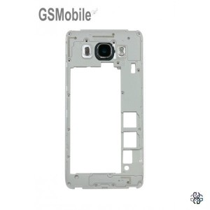Middle Cover + Camera Lens for Samsung J5 2016 Galaxy J510F Black