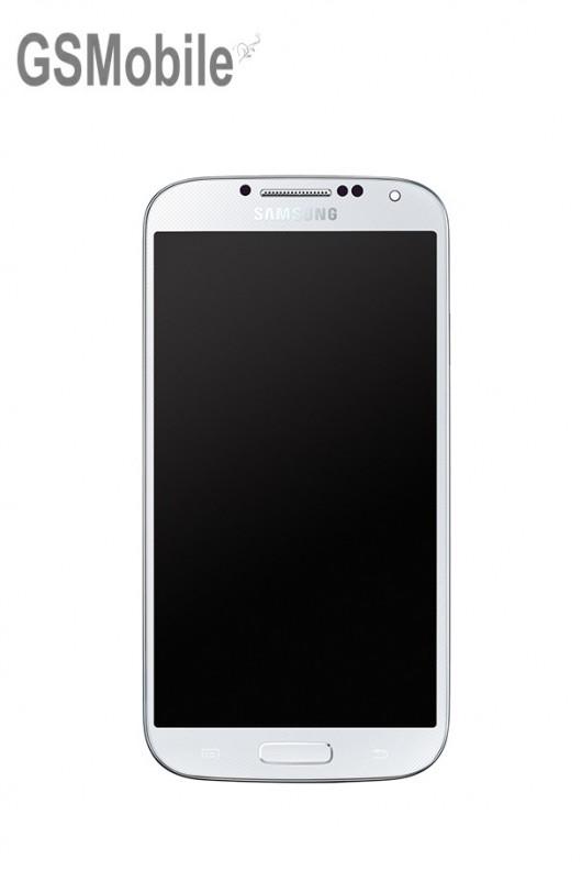 Pantalla completa Samsung i9500 Galaxy S4 Blanco