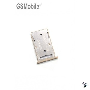 Xiaomi Redmi 4A SIM card and MicroSD gold
