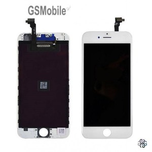 Ecrã - Display LCD Touch iPhone 6 Plus Branco - vendas de peças sobressalentes da Apple