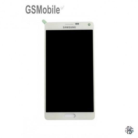 Display Samsung N910F Galaxy Note 4 White - Original