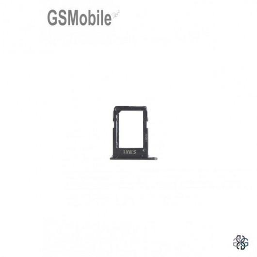 Samsung A6 Plus 2018 Galaxy A605F Sim card tray black