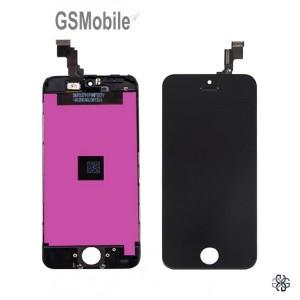 Ecrã - Display LCD Touch iPhone 5C Preto - vendas de peças sobressalentes da Apple