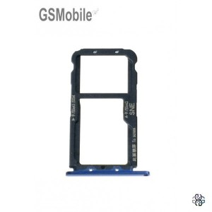 Huawei Mate 20 Lite Sim Card Tray Original Blue