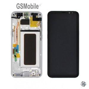 Ecrã - Display LCD Touch Samsung S8 Plus Galaxy G955F Prata Original
