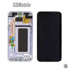 Ecrã - Display LCD Touch Samsung S8 Plus Galaxy G955F Violeta Original
