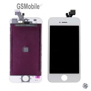 Ecrã - Display LCD Touch iPhone 5G Branco - vendas de peças sobressalentes da Apple