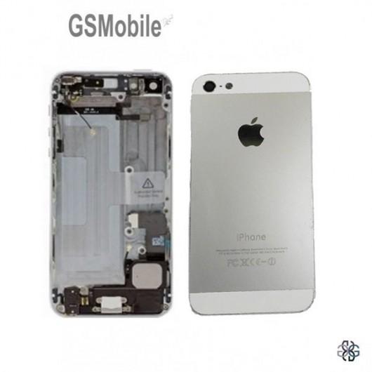 Chassis para iPhone 5 Prata - vendas de peças sobressalentes da Apple