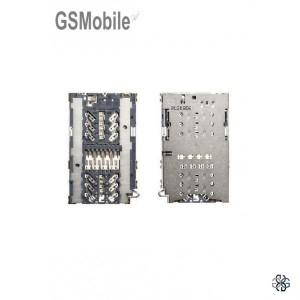 Leitor de cartão sim + microSD para Samsung S7 Galaxy G930F