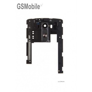 LG D855 G3 - Middle Cover + Rear Button Black