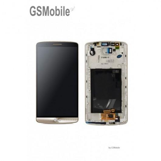 LG D855 G3 - Display LCD Touchscreen ORIGINAL gold