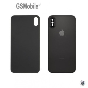 Battery Cover with camera lens for iPhone X Black
