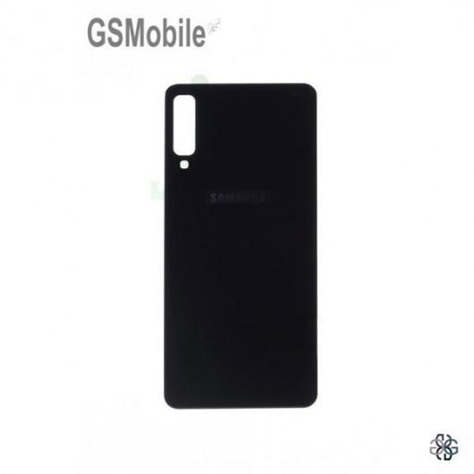 Battery Cover Samsung A7 2018 Galaxy A750F Black