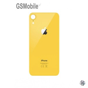 Battery Cover for iPhone XR Yellow