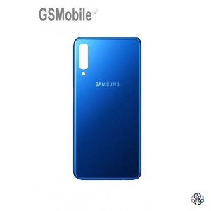 Battery Cover Samsung A7 2018 Galaxy A750F Blue