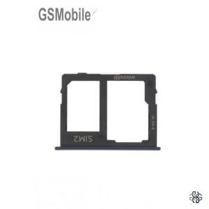 Samsung J4 Plus Galaxy J415F Sim / SD Card Tray Black Original