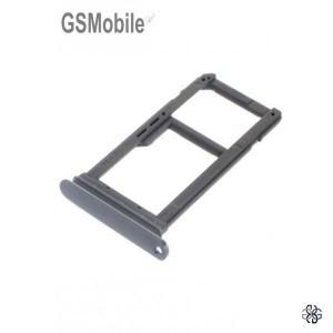 Bandeja de cartão SIM e MicroSD cinza Samsung S7 Galaxy G930F