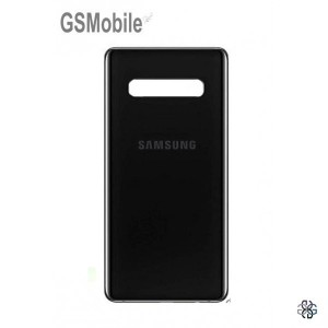 Samsung S10 Plus Galaxy G975F battery cover black