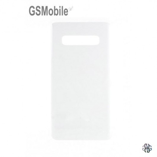 Battery Cover Samsung S10 Galaxy G973F White