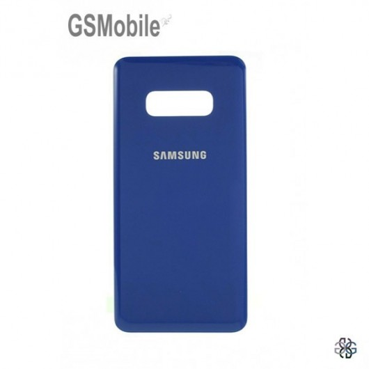 Battery Cover Samsung S10 Galaxy G973F Blue