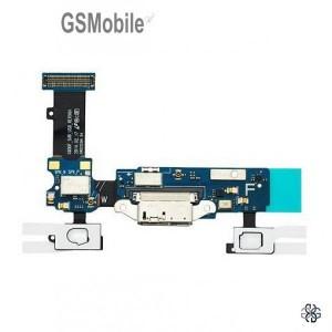 Flex do conector de carregamento Samsung S5 Galaxy G900F
