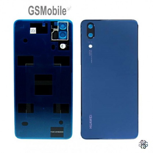 Huawei P20 back cover blue