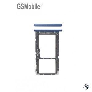 SIM card and MicroSD tray Xiaomi Pocophone F1 Blue
