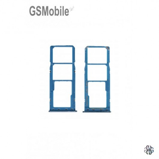 SIM card and MicroSD tray Samsung A50 2019 Galaxy A505F Original Blue
