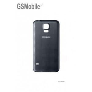 Samsung S5 Galaxy G900F battery cover black
