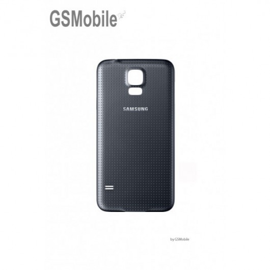 Samsung S5 Galaxy G900F battery cover black