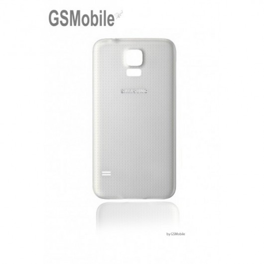 Samsung S5 Galaxy G900F battery cover white