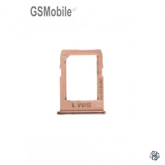 Sim card tray Samsung J4 Plus Galaxy J415F Gold - Original