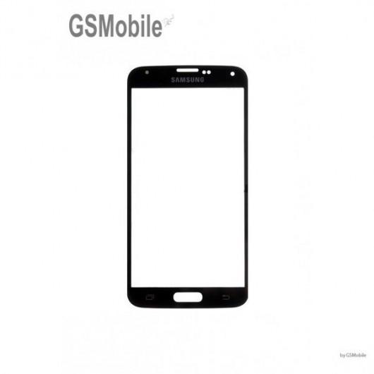 Vidro Dianteiro preto Samsung S5 Galaxy G900F