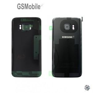 Tampa traseira Samsung S7 Galaxy G930F Preto Original